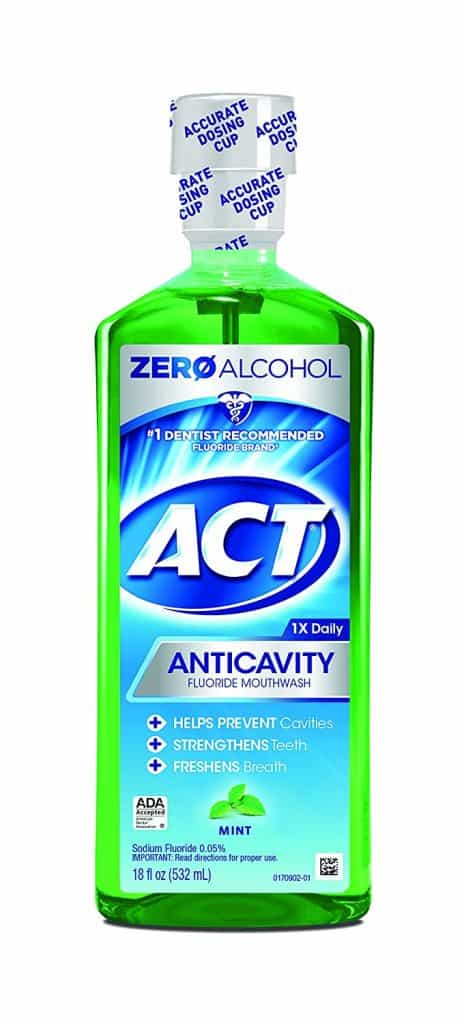 ACT Anticavity Fluoride Mouthwash