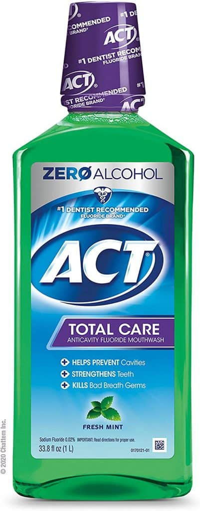 ACT Total Care Anticavity Fluoride Mouthwash