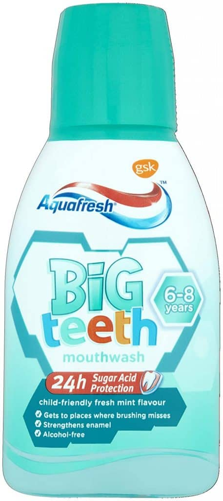 Aquafresh Mouthwash with Fluoride for Kids