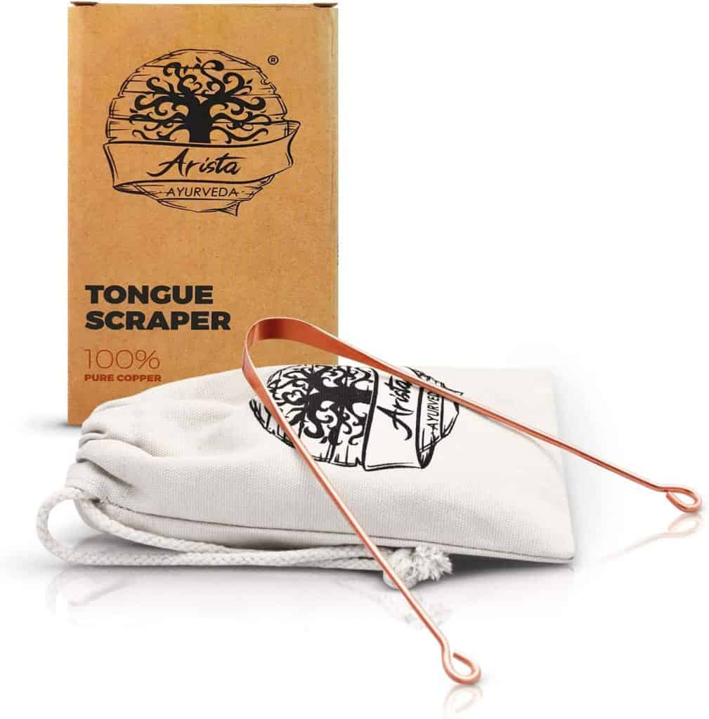 Ayurveda Tongue Copper Tongue Scraper