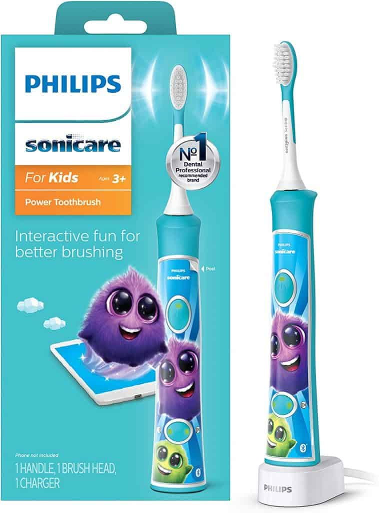 Philips Sonicare HX6321/02 Sonicare for Kids Rechargeable Electric Toothbrush