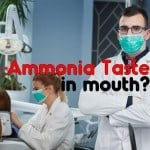 Ammonia Taste in Mouth