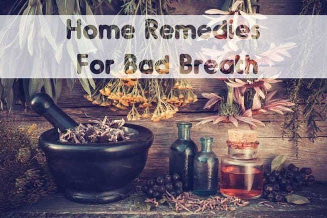 Home Rmedies For Bad Breath