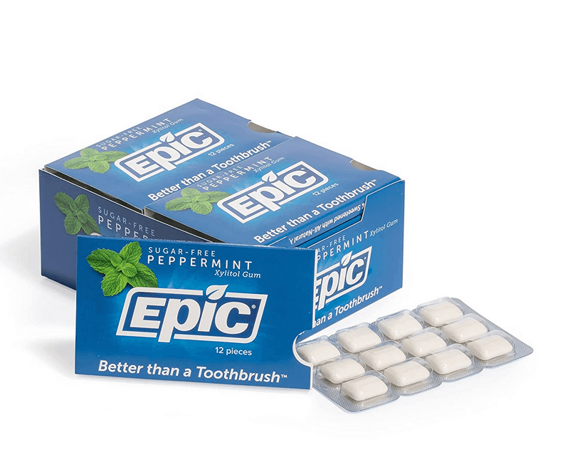 Epic Dental 100% Xylitol Sweetened For Gums
