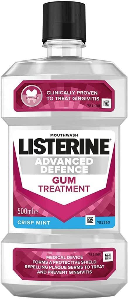 Listerine Advanced Defense Gum Treatment for Gingivitis
