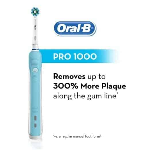 Oral B Pro 1000 Rechargeable Electric Toothbrush
