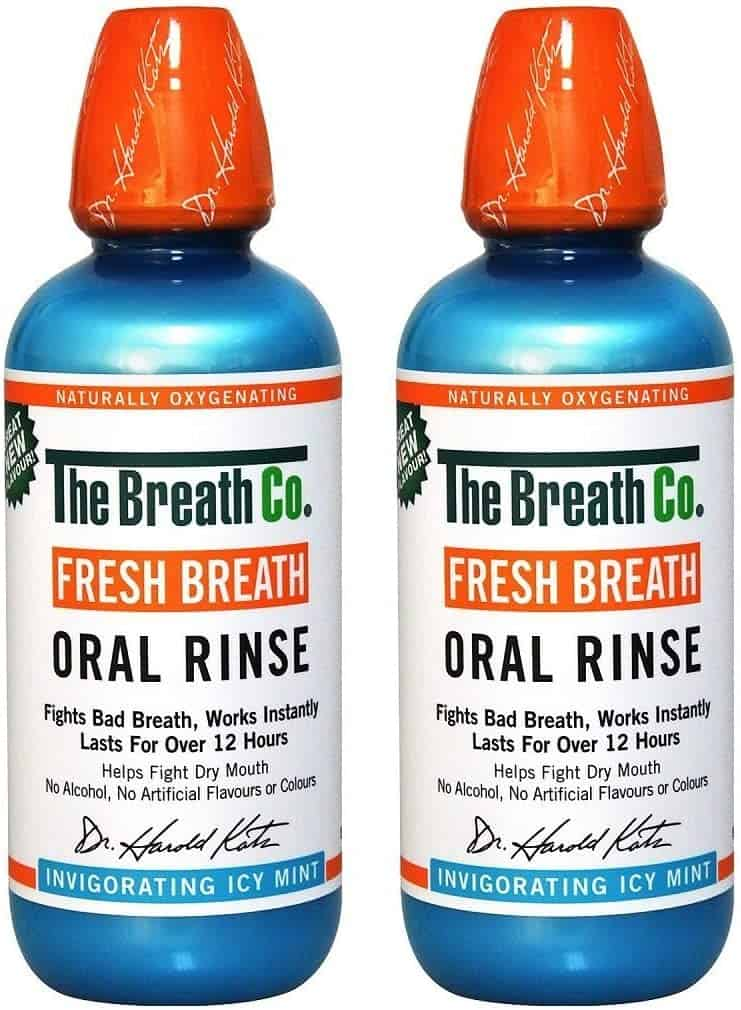 The Breath Co Fresh Breath Oral Rinse Mouthwash (Alcohol Free)