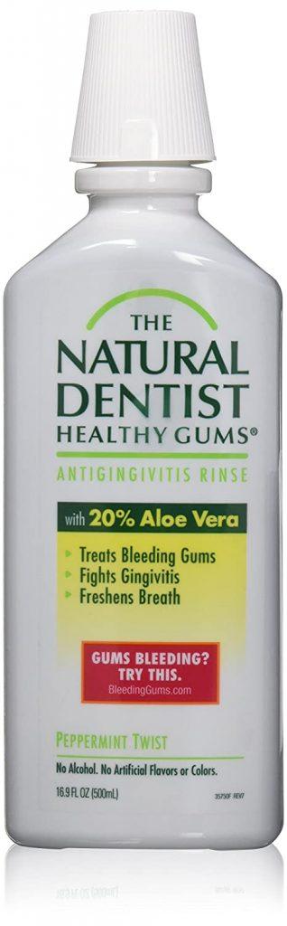 The Natural Dentist Antigingivitis Rinse