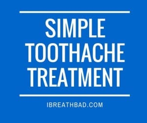Simple Toothache Treatment