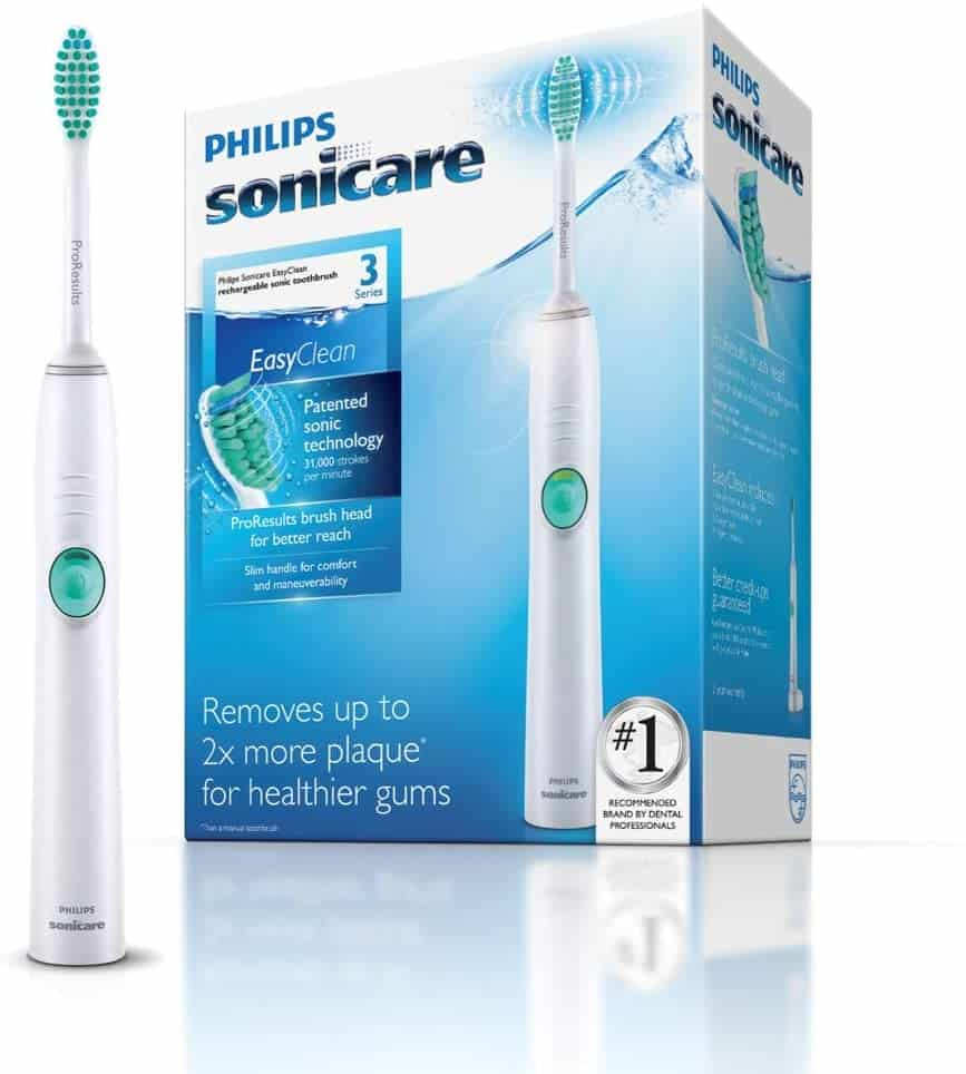 Philips Sonicare HX6511-50 EasyClean Rechargeable Sonic Toothbrush