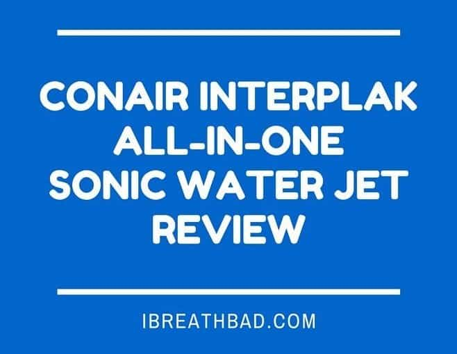 Conair Interplak All-in-One Sonic Water Jet review