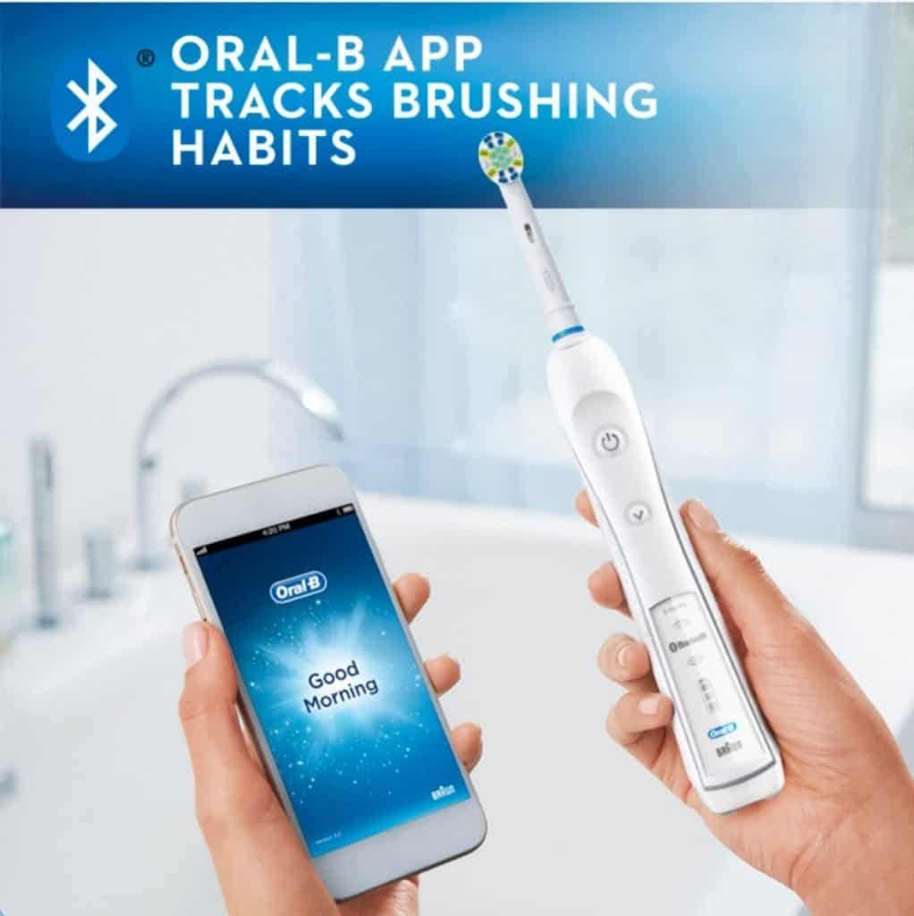 Oral-B Professional Care 5000 Brushing Habits