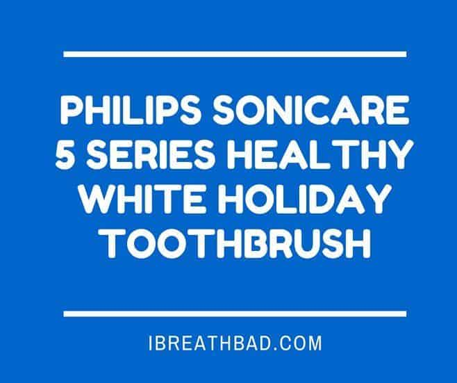Philips Sonicare 5 Serie Healthy White Holiday Toothbrush