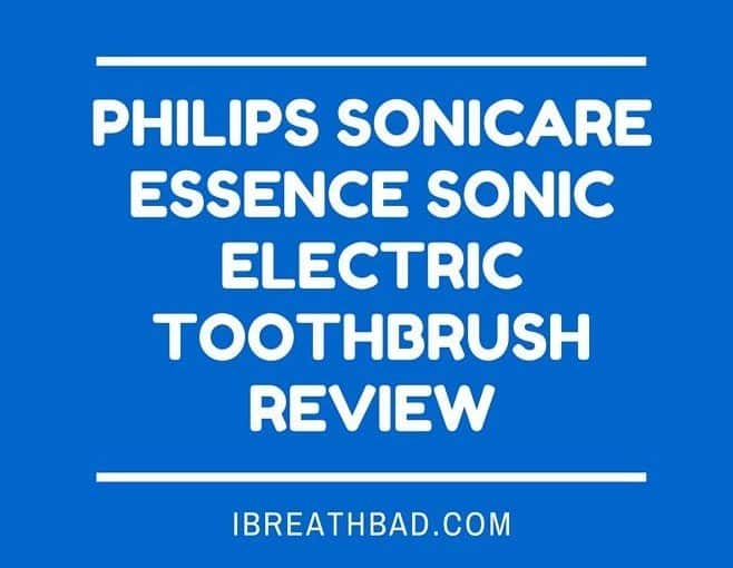 Philips Sonicare Essence Sonic Electric Toothbrush Review