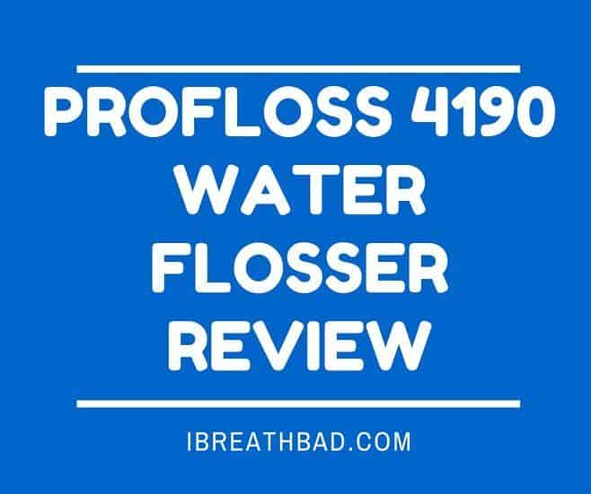 profloss 4190 waterflosser review best for the money. Black Bedroom Furniture Sets. Home Design Ideas