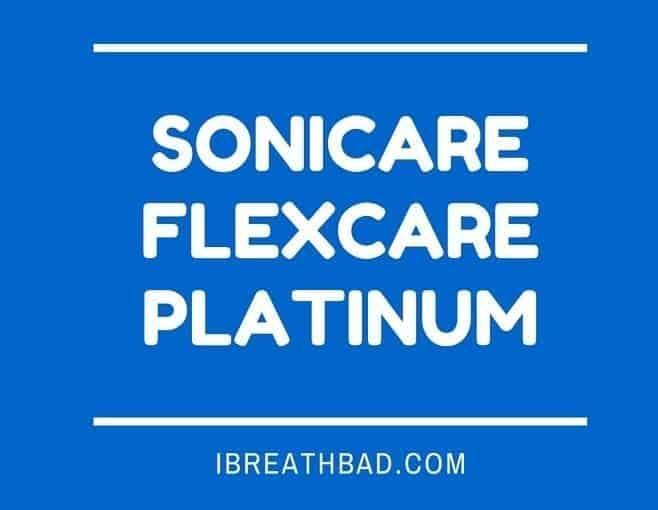Sonicare flexcare platinum
