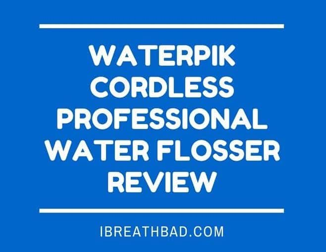 Waterpik Cordless Professional Water Flosser