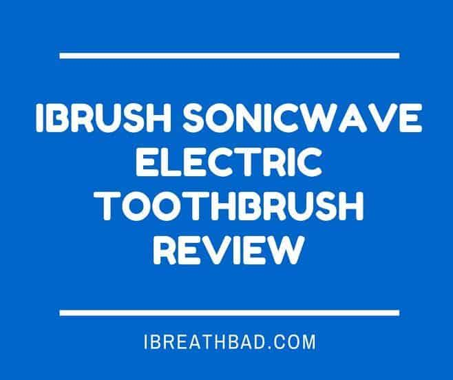 iBrush SonicWave Electric Toothbrush Review
