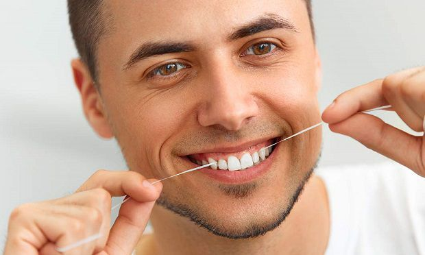 purpose of flossing