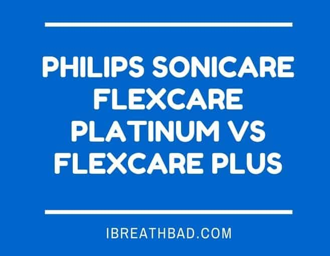 sonicare flexcare platinum vs flexcare plus