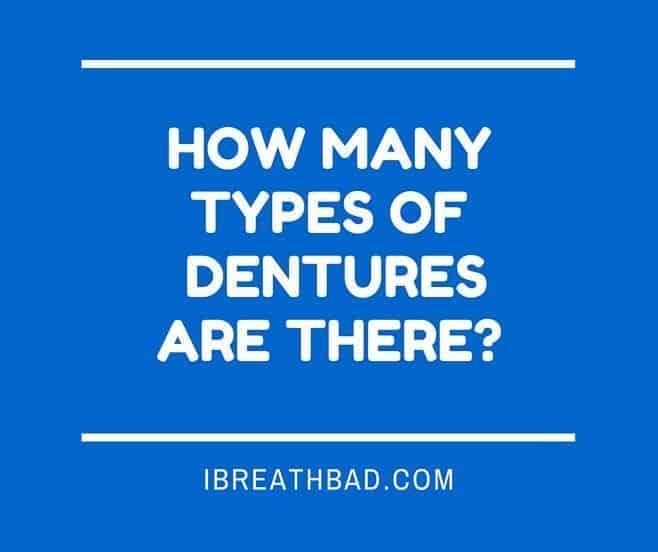 types of dentures