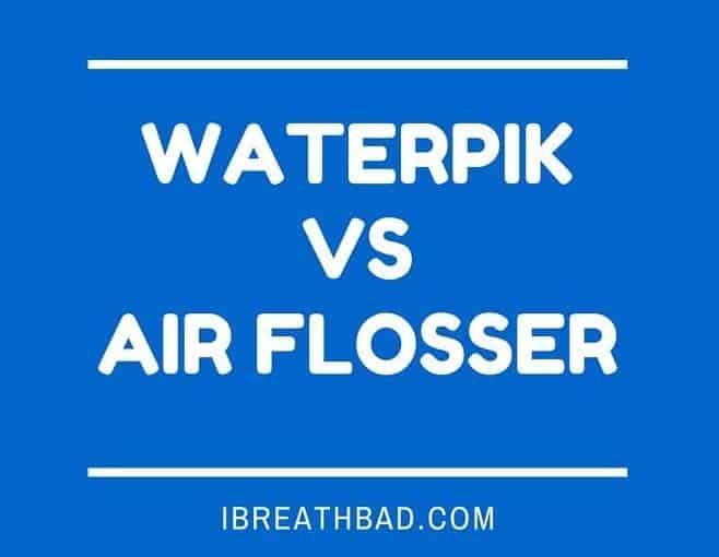 waterpik vs air flosser