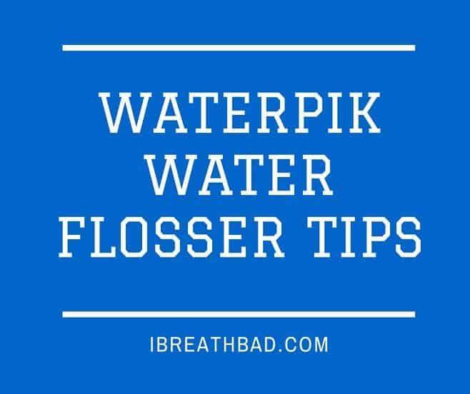 waterpik water flosser tips
