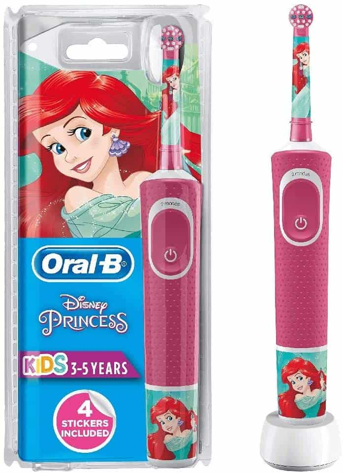 Oral-B Stages Power Kids Electric Rechargeable Toothbrush Featuring Disney Princesses