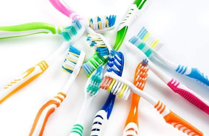 soft bristle toothbrush