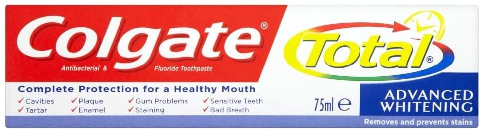 Colgate Total Advanced Tooth Whitening Toothpaste