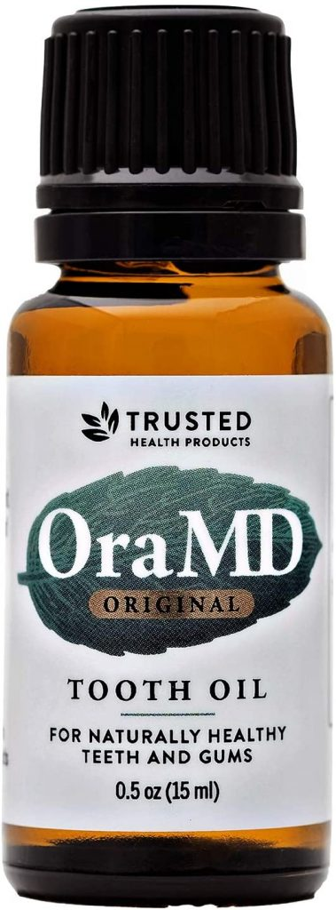OraMD Single Bottle - 100% Pure Toothpaste for Gum Disease
